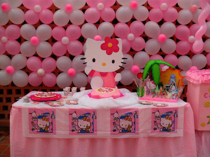 decoraciones hello kitty imagui