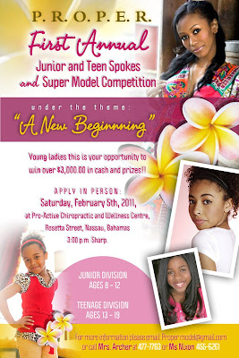 Jr. & Teen Spokes Model & Super Model Competition