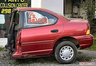 Car available at half price