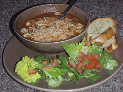 Skinny Bovine\'s Kitchen: recipe of the week: pasta e fagioli