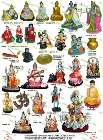 gods and goddesses. All Hindu Gods and Goddesses
