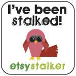 I have been featured on Etsy Stalker~