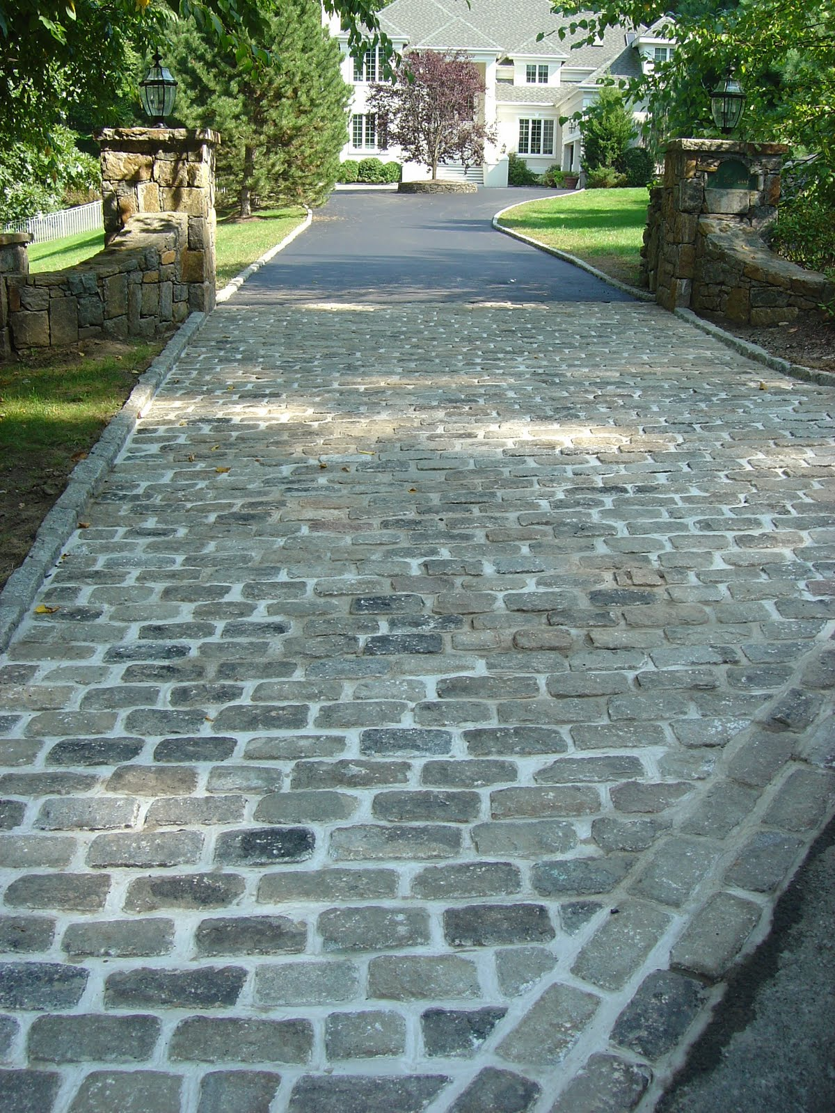 Cobblestone Stones For Driveways : Images about driveway paving ideas on pinterest