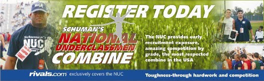National Underclassmen Combine 2011 Registration