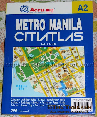 Philippine Street Map Metro Manila