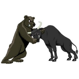Bear Bull Fighting