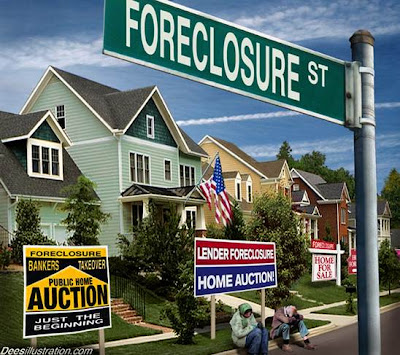 USA Real Estate Market Recession Depression