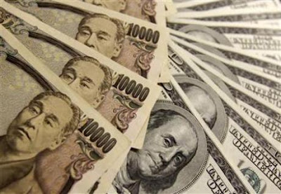 Dollar Yen Paper Currency