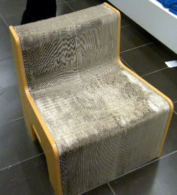 This Amazing Chair Is Made Of Recycled Paper And Wood Waste. It Has An  Accordion Like Structure That Expands In The Round Or Stretches Out To  Accommodate 8 ...
