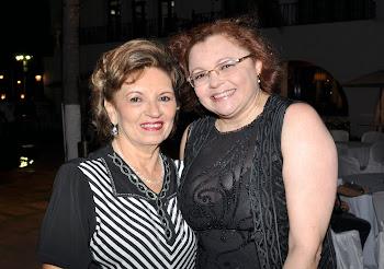 Giselda Medeiros e Rejane Costa Barros