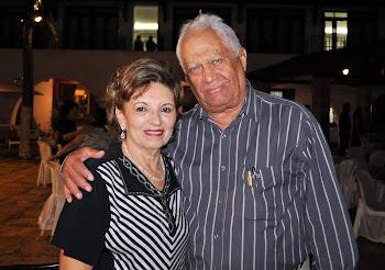 Giselda e Cláudio Queiroz