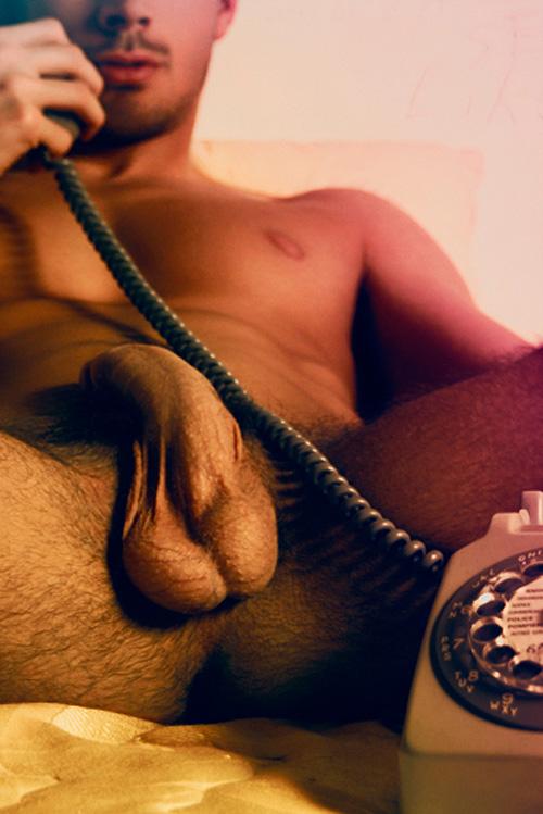 Звезда гей-порно Людовик Кенот (Ludovic Canot) в красочном эдиториале &quot