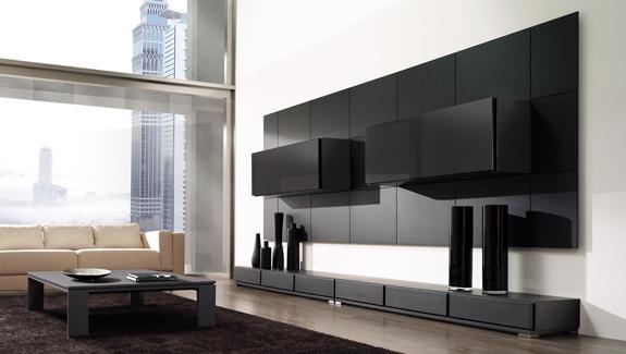 Muebles de melamine galeria para sala - Salones de diseno minimalista ...