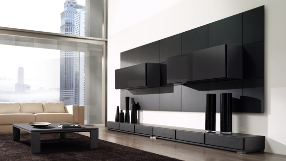 Muebles de melamine galeria para sala for Mueble comedor minimalista