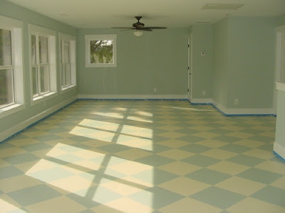 First A Dream Painted Sub Floors Over Year Later