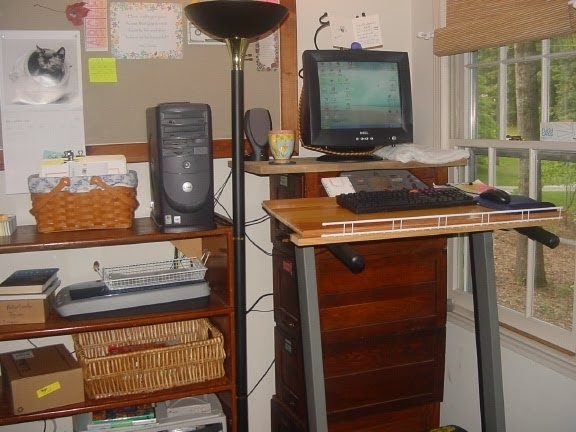 First A Dream Treadmill Desk