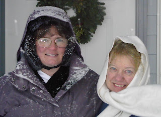 First Day of Winter, With a Vengeance! 12-21-2008 (Julie & Chantelle).JPG