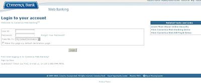 comerica web banking