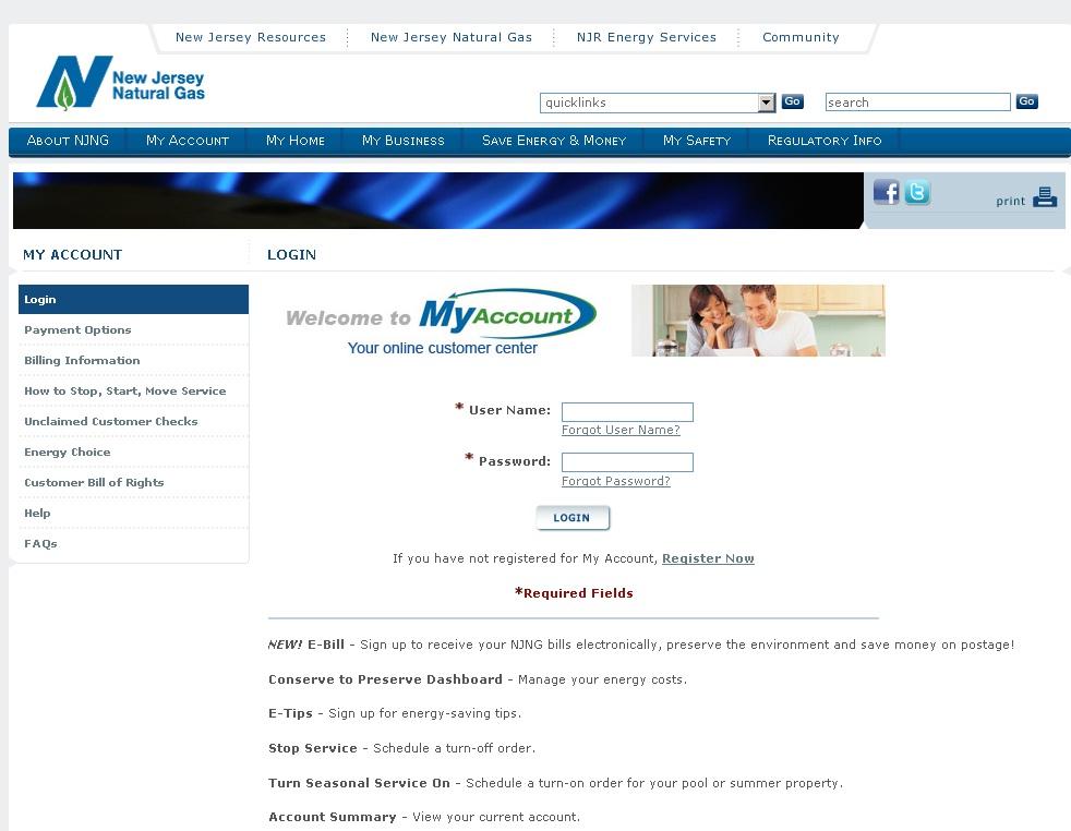 Nj Natural Gas Service Providers