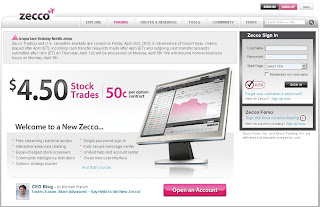 Zecco Trading Review 2010 : Discount Online Broker