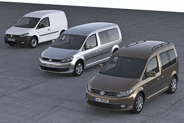 2011 Volkswagen Caddy Van: Features & Photos revealed