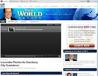 www.Foxnews.com/yourworld - Your World on FOXNews.com