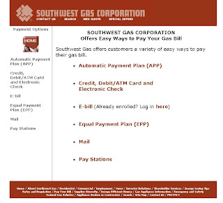 Southwest Gas: Bill pay locations & Online Payment Guide