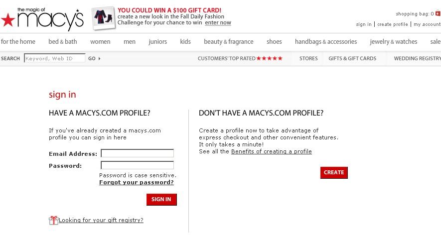MACYS.COM\MYMACYSCARD