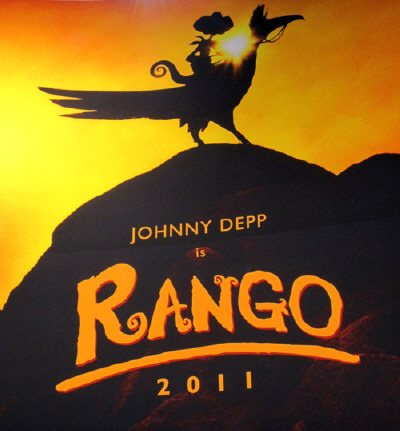 rango teaser poster400 Filme Rango 2011