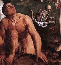 Details from The Last Judgement by Pieter Pourbus, 1551