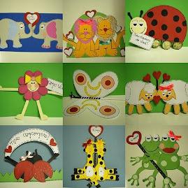 Cartões bichinhos