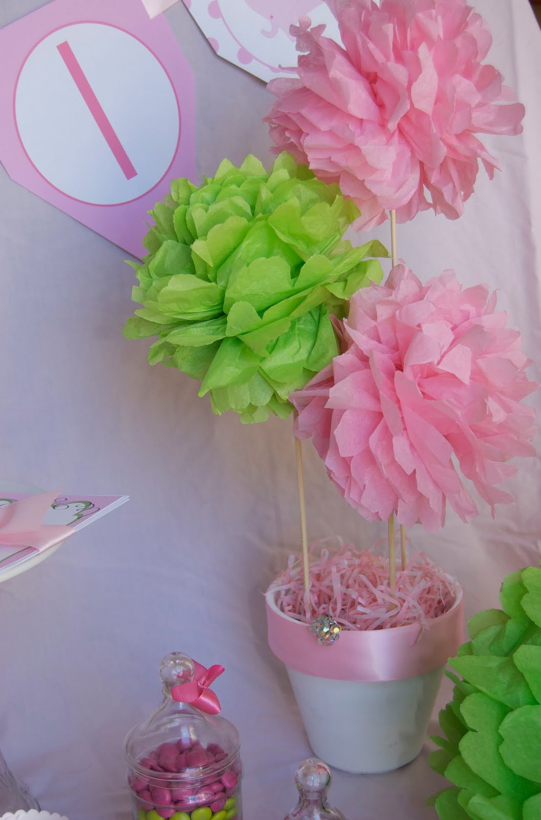how to make large tissue paper balls To make tissue paper flowers 5 the amount of tissue you use depends on how large you want your i like how you don't need a styrofoam ball for.