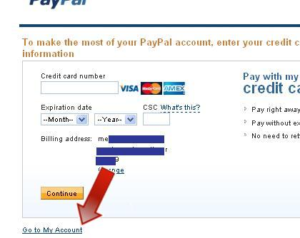 how to create paypal account in pakistan step by step
