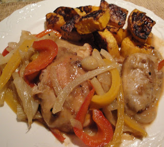 Maureen's Meals - Gourmet Everyday: Balsamic Braised Chicken Thighs