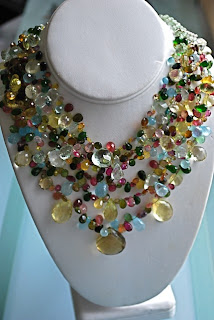 Bib Necklace by jjboz10 on Etsy
