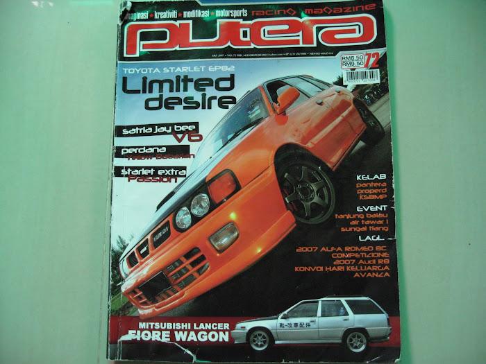 Majalah Putera Racing Oktober 2007 (Keluaran 72)