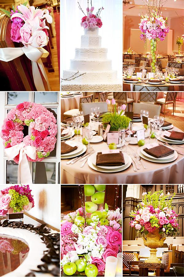 Help need hot pink and brown spring wedding ideas wedding green brown