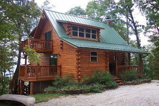 Lilac lane cottage log homes and 39 what if 39 s 39 for Cabin builders in arkansas