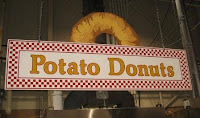 Potato Donuts Sign