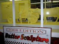 Harrisburg butter sculpture