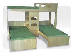 Patr cia fraga arquiteta e urbanista triliches - Modelo de camas ...