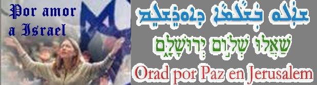 Por Amor a Israel