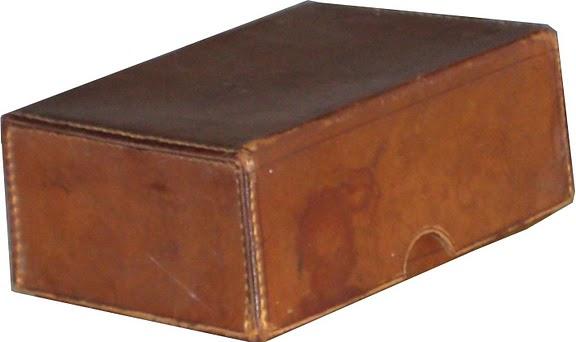 Bauli scatole scatola in cuoio for Oggetti in cuoio