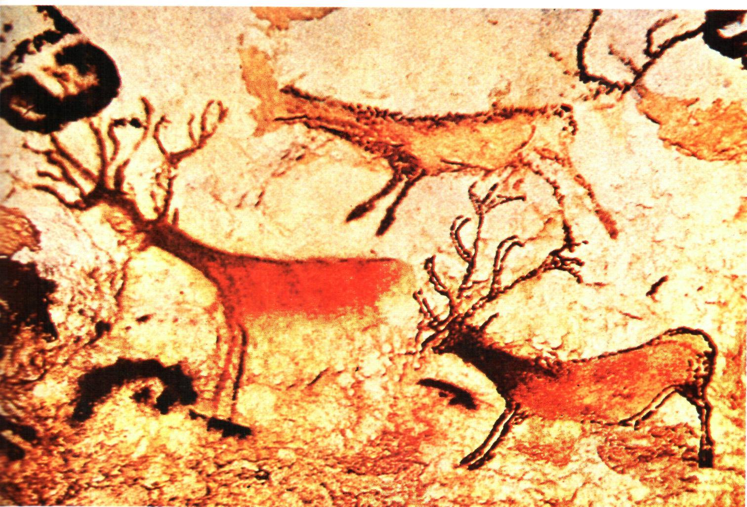 особенности живописи эпохи первобытности: