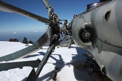 Abandoned Russian MI-8