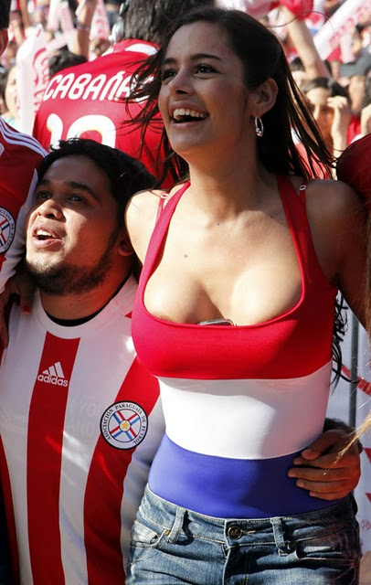 paraguay fan larissa riquelme photo gallery