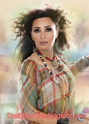 Tunisian Pop Superstar Latifa Photos