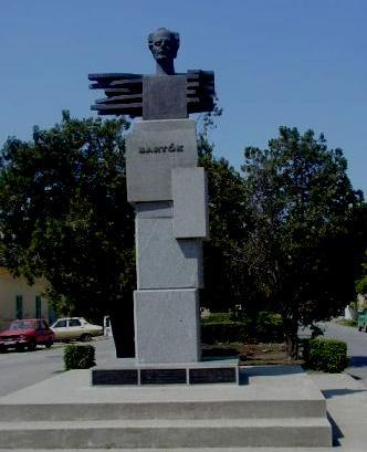 Statuia lui Bela Bartok la Sannicolau Mare