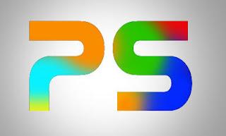 10 Photoshop Tutorials: Make Grunge Rainbow text effect