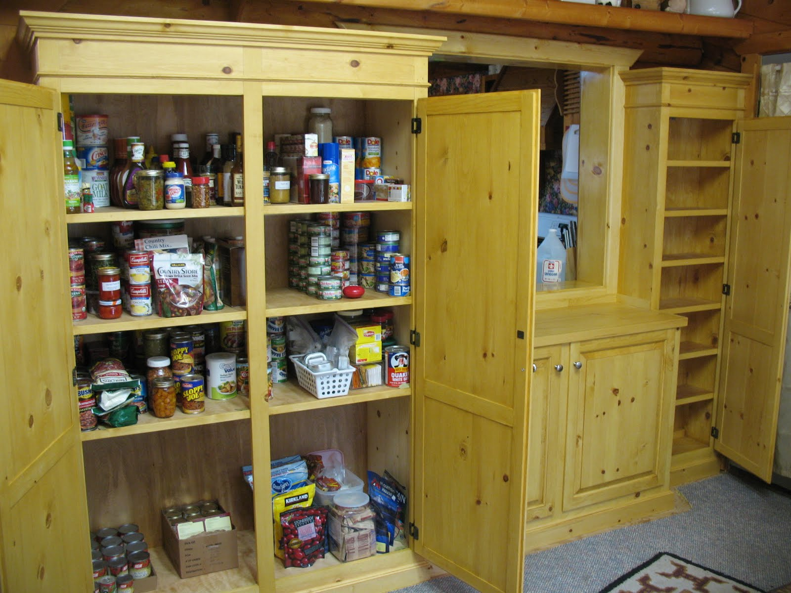 The cool Kitchen pantry storage cabinet photo
